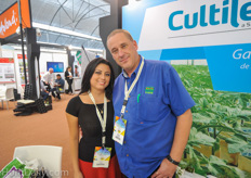 United Farms technical maintenance manager Enrico Verhoef together with his wife Nallely.
