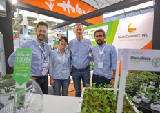 Pharis Rico, Gabriela Reygoza, Freddy Weel and Armando Lopez from PlantaNova.