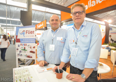 José Carretero Perez and Sjaak Bakker from Flier Systems. An interview with José will follow on HortiDaily.com.