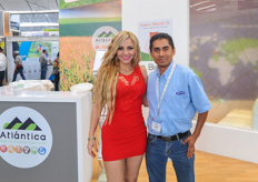 Also Atlántica was present at the show.