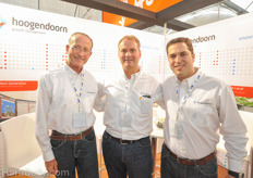 Willem Verkade, Martin Helmich, and Juan Gonzalez from Hoogendoorn.