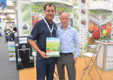Edward Leyton of Leyton Greenhouse and supply and Marcel Schoondergang.