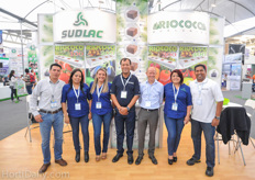 The team from Leyton Greenhouse and Suppply together with Marcel Schoondergangfrom Sudlac and Shan Halamba from Riococo.