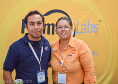 Giovani Gomez and Fernanda Hoata from Primus Labs.