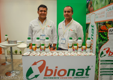 Rodrigo González and José Antonio Flores Carrasco from Bionat.