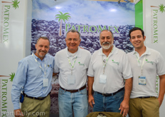 Manuel Loyo frmo CIU, Jorge Alfonso Peña Soberanis from PatroMex, Fank Chaves from Agro Fruits International, LLC, and Jorge Peña Robles from PatroMex.