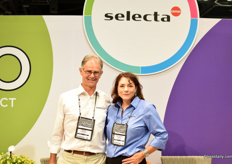 Henk Dresselhuys and Christine Nowicki of Selecta One