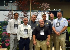 The team of Star Roses and Plants f.l.t.r., John Rausch, Tom O'Connell, Tim Wood, Bradd Yoder, Brad Harvey, Dan Schultz and Dave Alm.