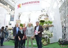 The team of Barendsen who is also attending floradecora for the second time. They are looking for high end florists and wedding planners and last year, they met a lot of decision makers, which made them decide to attent the exhibition again.