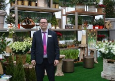 Henny Bruggeman of Royal FloraHolland. FloraHolland was again present to show a different sector the possibilities and wide assortment of flowers.
