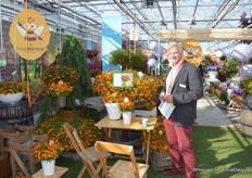 Jeroen Egtberts, managing director at Moerheim New Plants, told us about Beedance, a new potted plants line that the company release recently