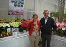 Laurence and Kees Everleens from Horteve Breeding, proud to present the newest Hortensia's