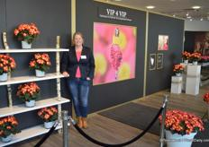 Lisanne Koppe from Koppe, the Dutch breeder specialized in begonia's