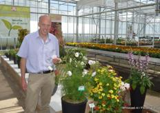 Andrew Spencer told us about the ins and outs of the English horticultural industry and the newest innovations at Thompson & Morgan