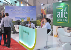 Besides many seed breeders and suppliers of technology, also many financial service suppliers were present on the show.