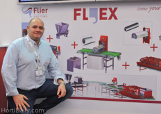 José Carretero Perez of Flier Systems; their modular Flex system is also very suitable on the Eurasian market.
