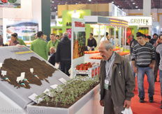 A lot of information on Rootstocks could be found at the booth of Titiz.