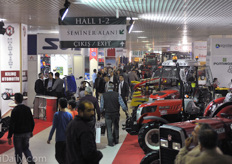Halls 1 and 2 were dedicated to agricultural machines and new exhibitors.
