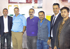 The growers of Yiğit Greenhouse and their consultant Dr.Murat Çiçekli visiting Mustafa Sert of Benimplast Riococo.