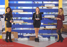 The hostesses at the Benimplast / Riococo booth.
