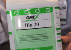 Omex Bio 20 is a soluble foliar agrifuild for root improvement.