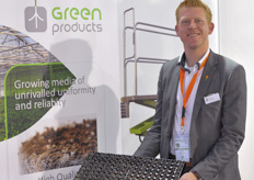 Jan Dons of Green Products was exhibiting at the show for the first time.