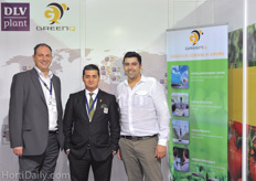 Consultants Aad van der Berg and Ibrahim Yilmaz of DLV Plant - GreenQ together with their customer Rufat Mammadov of Grow Group Azerbaijan. Learn more about Grow Group Azerbaijan in this article ; www.hortidaily.com/article/8207/Azerbaijani-horticulture-thrives,-with-special-thanks-to-Russian-consumers-and-French-technology