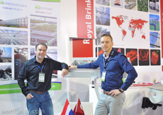 Egbert Bruins and Floris Berghout of KG Systems.