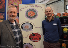 Philip Harkness and David Hunt from Harkness Roses.