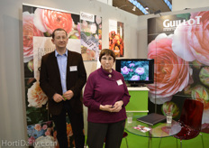 Denis Sainrat and Marcelle Paasch from Guillot.