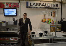 Cristian Petrache from Larbaletier.