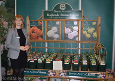 Melanie Pannell from David Austin Roses.