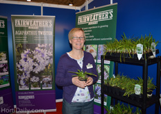Sharon Lowndes from Fairweather's Nursery.