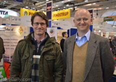 Peter De Steur from Province of East Flanders and Tom de Smedt from Hyplast.