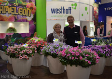 Luise Kormann and Manfred Mehring-Lemper, breeders at Westhoff.