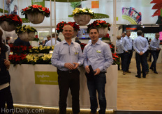 Christian Thoma and Klaus Hess from Syngenta.