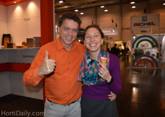 Edwin Smit and Renée Snijders from Ideavelop visited the IPM Essen.