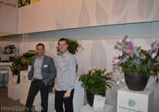 Jeroen Persoon and John Langeslag from Forever Plants.