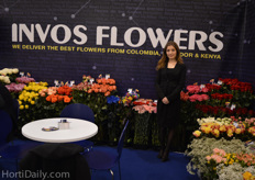 Aleksandra from Invos Flowers Export.