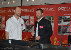 Steve Long and Peter Fresner from Plantscape.