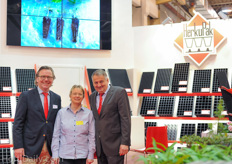 Alfred Boot, Sabine Zander and Bernhard Aichele from HerkuPlast.