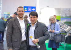 Inaki Gil Boronat and Pascual Sanz Tortosa of Spanish greenhouse builder ININSA visiting the show. They also had a booth at IPM Essen.