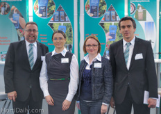 The Steo Systems team : Harald Braungardt, Isolde Prolb, Anastasia Konarek and Marjan Karlovic.