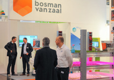 The new Bosman van Zaal booth.