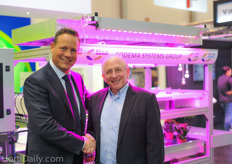 Gideon de Jager of Codema Systems Group and Harvey Bondar of Verdant Global formed a new joint venture.
