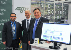 The team from Argus Controls