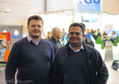 Thomas Ogden and Sudesh Fernando from Cocogreen.