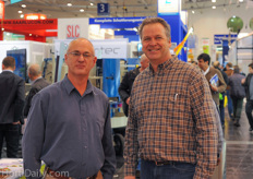All the way from Canada: Rob Vandersteen and Andrew van Geest of Zwart Systems