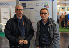Dirk Jan de Haas of Agrifast/ D.J Products together with Jeroen de Graaf of Green Company