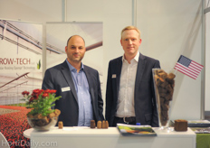Edwin Dijkshoorn and Florian Knappe from Grow-Tech